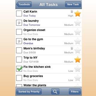 Toodledo-iphone-app